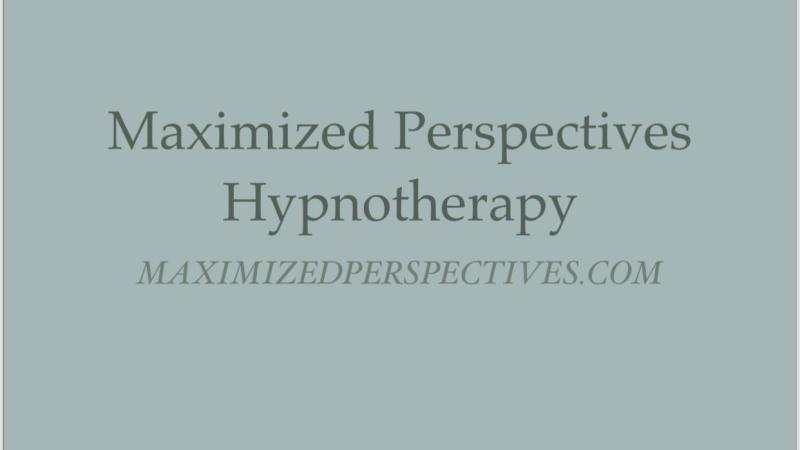 THE BENEFITS OFHYPNOSIS