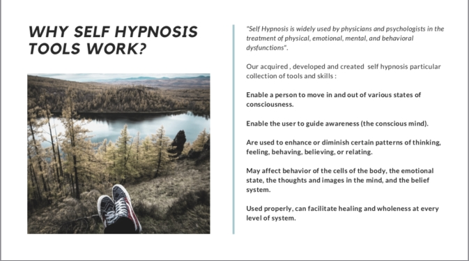 WHY SELF HYPNOSIS TOOLS WORK?