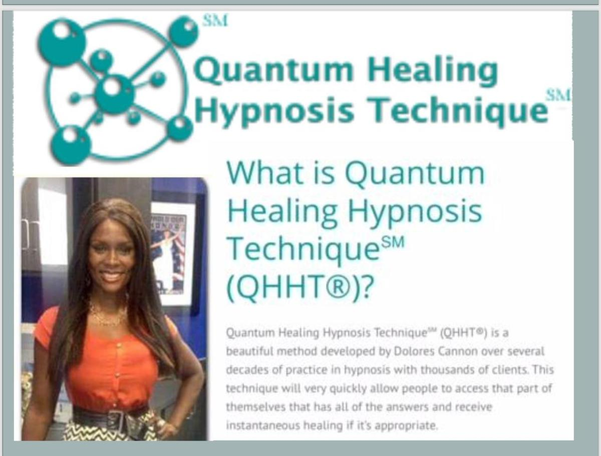 """Quantum Healing Hypnosis """"Qhht"""" - Maximized Perspectives"""